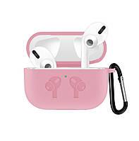 Чехол Grand для наушников Apple AirPods Pro Silicone Case Pink Sand AL4409, КОД: 1389754
