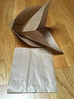 Упаковка для гамбургера,бургера,бутербродов, блинчиков 170х150х0 (бурый,38гр\м2)