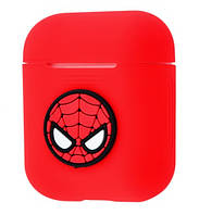 Чехол Grand Marvel Case для Apple AirPods Spider Man Red NC-21399-SpiderMan, КОД: 1343992