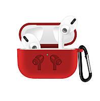 Чехол Grand для наушников Apple AirPods Pro Silicone Case Red AL4410, КОД: 1389755