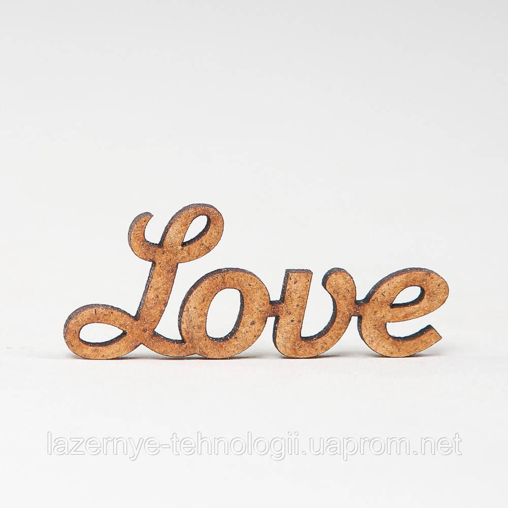 "Заготовка для скрапбукинга ""Love"""
