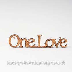 """Заготовка для скрапбукинга """"One Love"""""""