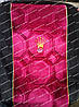 Автомобильные велюровые чехлы на сидения Ваз 2109-21099, 2113-2115 (Черно-бордовые)