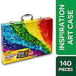 Набор для Рисования в Чемодане, Crayola Inspiration Art Case, Оригинал из США, фото 3