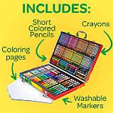 Набір для Малювання у Валізі, Crayola Inspiration Art Case, Оригінал з США, фото 4