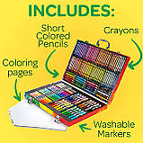 Набор для Рисования в Чемодане, Crayola Inspiration Art Case, Оригинал из США, фото 4