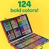Набір для Малювання у Валізі, Crayola Inspiration Art Case, Оригінал з США, фото 5