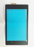 Оригинальный тачскрин / сенсор (сенсорное стекло) для Asus Google Nexus 7 ME571 (черный цвет, версия №2 2013г)