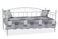 Односпальная кровать Signal Ankara 90X200 Белый ANKARAB2, КОД: 1638028