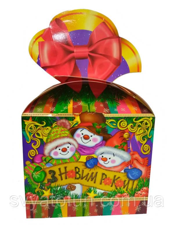 Коробка новогодняя № 244, 500 г