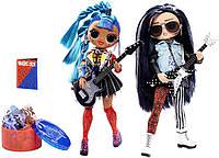 Набор кукол ЛОЛ ОМГ Ремикс Дуэт Рокер Бой и Панк Грррл L.O.L. Surprise! O.M.G. Remix Rocker Boi and Punk Grrrl