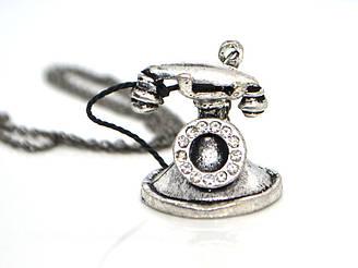 Кулон Телефон, серебро