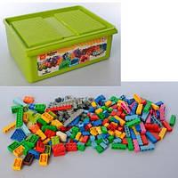 Детский конструктор в пластиковом ящике, 1500 деталей (093-3)
