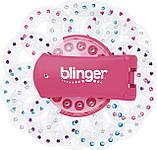 Набір з машинкою і 225 каміння для прикраси волосся і аксесуарів, Blinger Ultimate Set Оригінал з США, фото 2