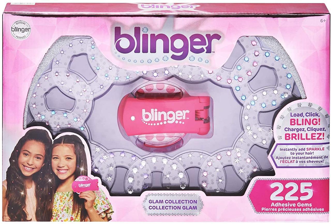 Набор с машинкой и 225 камней для украшения волос и аксессуаров, Blinger Ultimate Set Оригинал из США