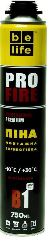 Противопожарная монтажная пена Belife FIRE PRO B-1