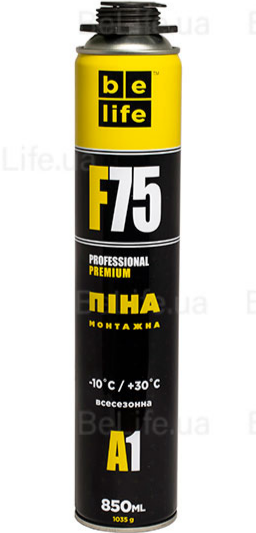 Зимняя монтажная пена Belife Premium PRO-F75 (A1)