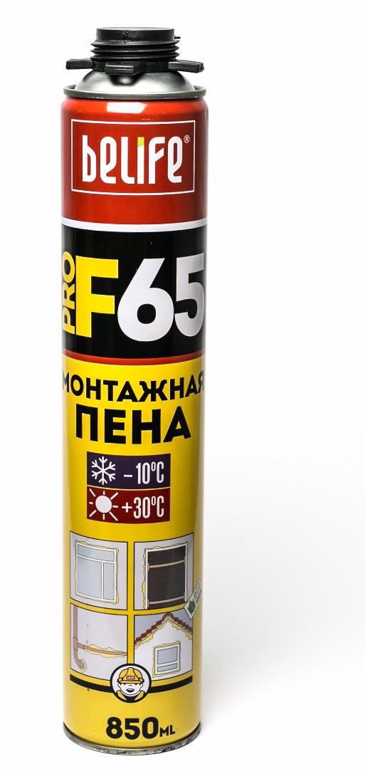 Монтажная пена с увеличенным выходом Belife PRO-F65
