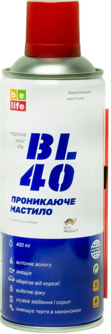 Универсальная проникающая смазка BL-40 (жидкий ключ) 400 мл