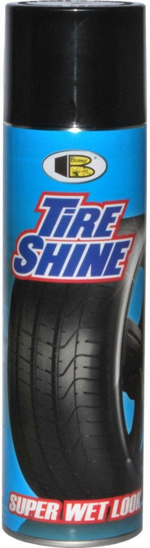 Средство для чернения резины Bosny Tire Shine, 550 мл