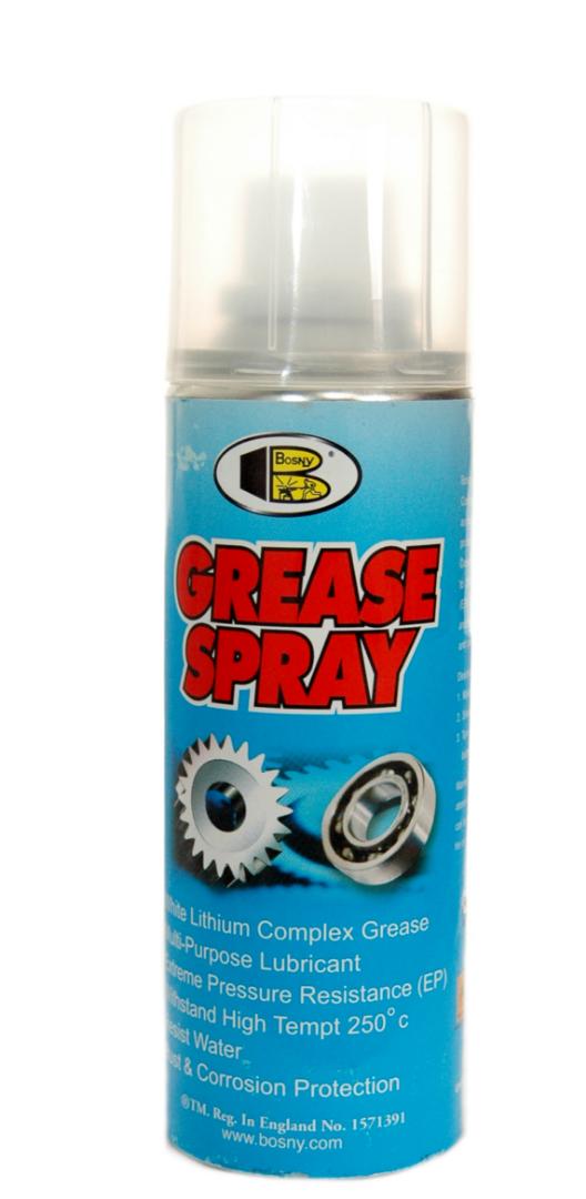 Литиевая смазка Bosny Grease Spray (аэрозоль)