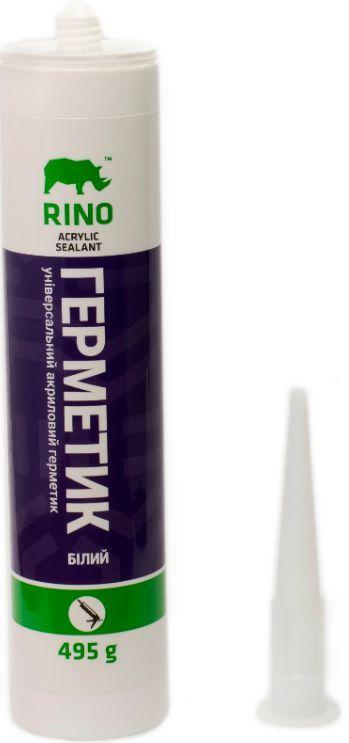 Акриловый герметик Rino RS-A496 (Белый), 310 мл