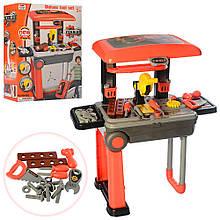 Набор детских инструментов на стойке - чемодане арт. 008-922