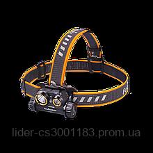 Подарунковий набiр налобний ліхтар Fenix  HM65R+ліхтар ручний Fenix E01 V2.0