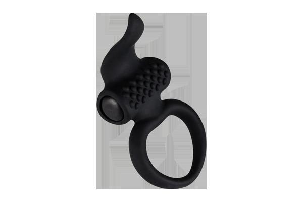 Эрекционное кольцо Lingus Black с вибрацией