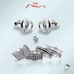 Серебряные украшение