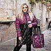 Куртка удлиненная с сумкой плащевка+200 синтепон 42-44,46-48, фото 3