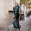 Куртка удлиненная с сумкой плащевка+200 синтепон 42-44,46-48, фото 2