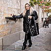 Куртка удлиненная с сумкой плащевка+200 синтепон 50-52,54-56, фото 6