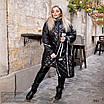 Куртка удлиненная с сумкой плащевка+200 синтепон 50-52,54-56, фото 7