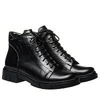 Ботинки La Rose 2333 36(23,4см) Черная кожа ДЕМИСЕЗОННЫЕ, фото 1