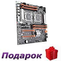 Материнская плата Kllisre X79 LGA 2011 E-ATX двухпроцессорная USB3.0 SATA3 PCI-E 3,0 16X PCI-E NVME M.2 SSD
