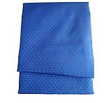 Шторка для ванной текстиль 180х180 ультра-синий, фото 2