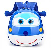 Рюкзак детский Orteker 3D дошкольный Super Wings Супер Вингс Супер крылья Джером (510)