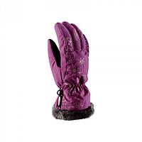 Рукавиці гірськолижні жіночі Viking Jaspis 5 XXS Фіолетовий 48
