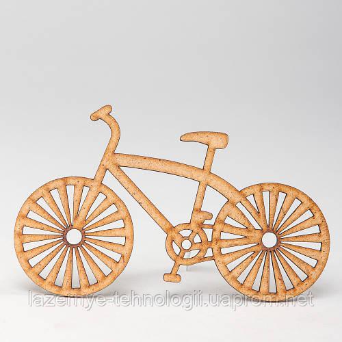 """Заготовка для скрапбукинга """"Велосипед спорт."""""""