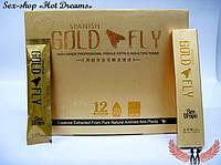 Женский возбудитель шпанская мушка Gold fly/Золотая мушка в каплях(упаковка)