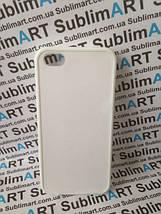 Чехол для 2D сублимации резиновый (TPU) Iphone 5C белый, фото 3