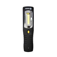 Аккумуляторный(Фонарь)Cветодиодный 3 Вт Li-Ion 3.7 В с боковой подсветкой VOREL 82719