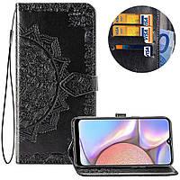 Кожаный чехол (книжка) Art Case с визитницей для Samsung Galaxy A10s
