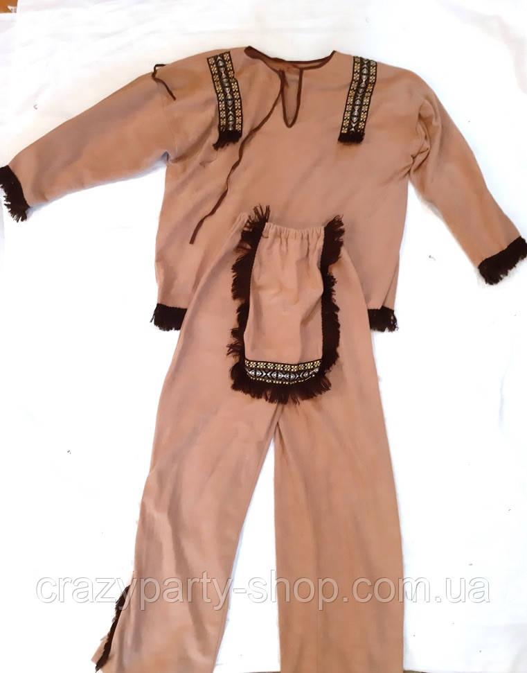 Костюм карнавальный Индейца рост 152 см б/у