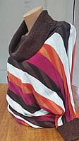 Свитер женский Karton полосатый большой размер, фото 1