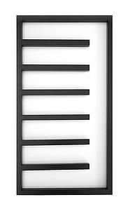 Электрический полотенцесушитель Genesis-Aqua Combo 80x53 см