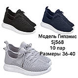 Женские Кроссовки Гипанис SJ568 СИНИЕ, фото 10