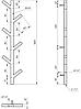 Полотенцесушитель Genesis-Aqua Albero 100 см, белый, фото 2