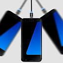 Кабель магнитный Topk USB 1m 360° (TK17i-VER2) MicroUSB Type-C Lightning Black (3865-10885), фото 4